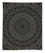 Andoluvium Metal Mandala Fleece Blanket