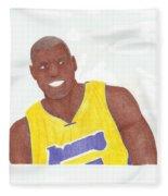 Andrew Bynum Fleece Blanket