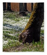 Anemone Forest Fleece Blanket