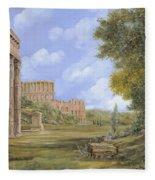 Anfiteatro Romano Fleece Blanket