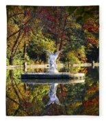 Angel In The Lake - St. Mary's Ambler Fleece Blanket