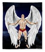 Angel Love 2  Fleece Blanket