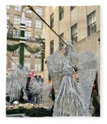 Angel New York City Fleece Blanket