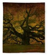 Angel Oak 3 Charleston Fleece Blanket