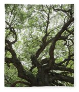 Angel Oak Branches Fleece Blanket