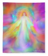 Angel Of Forgiveness And Compassion Fleece Blanket