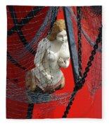 Angel Of The Seas Fleece Blanket