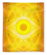 Angel Of The Sun Fleece Blanket