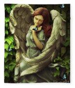 Angel Oriphiel Fleece Blanket