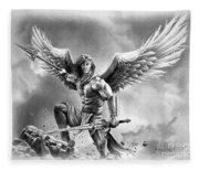Angel Warrior Fleece Blanket