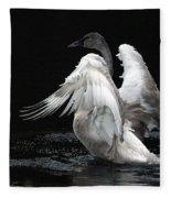 Angel Wings 2 Fleece Blanket