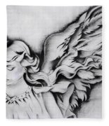 Angel Wings Fleece Blanket