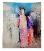Angel Wings Fleece Blanket