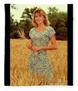 Angela Wheat-0781 Fleece Blanket