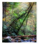 Angels At The River Fleece Blanket
