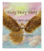 Angels Cry Holy Fleece Blanket