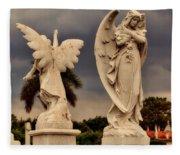 Angels In Havana Fleece Blanket