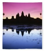 Angkor Wat Fleece Blanket