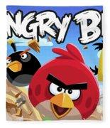 Angry Birds Fleece Blanket