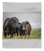 Angus Pair Fleece Blanket