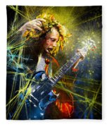 Angus Young Fleece Blanket