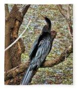 Anhinga 2 Fleece Blanket