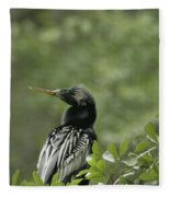 Anhinga Fleece Blanket