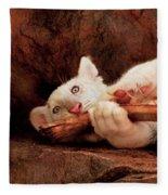 Animal - Cat - My Chew Toy Fleece Blanket