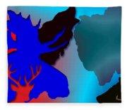 Animal Collage  -011 Fleece Blanket
