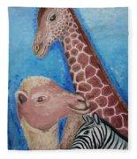 Animals Ladies Fleece Blanket