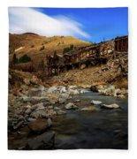 Animas Forks Colorado Fleece Blanket