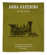 Anna Karenina By Leo Tolstoy Greatest Books Ever Series 024 Fleece Blanket