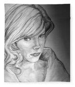 Anne Francis Fleece Blanket