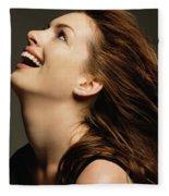 Anne Hathaway Fleece Blanket