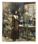 Anne Hutchinson, 1591-1643 Fleece Blanket