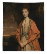 Anne Seymour Damer  Fleece Blanket