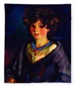Annie Geg 1925 Fleece Blanket