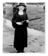 Annie Oakley, American Folk Hero Fleece Blanket