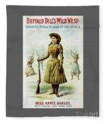 Annie Oakley Fleece Blanket