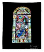 Annuciation Of Virgin Mary Mother Most Holy Fleece Blanket