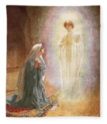 Annunciation Fleece Blanket