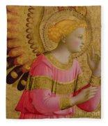 Annunciatory Angel Fleece Blanket