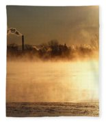 Another Cold Day Fleece Blanket