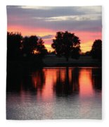 Another Day In Paradise Fleece Blanket