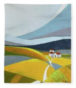Another Day On The Farm Fleece Blanket