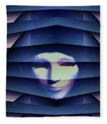 Another Face In The Crowd Fleece Blanket