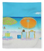 Another Perfect Beach Day Fleece Blanket