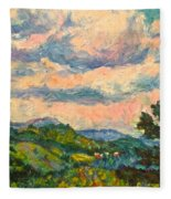 Another Rocky Knob Fleece Blanket