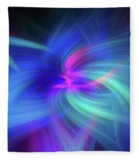 Another Space. Mystery Of Colors Fleece Blanket
