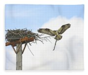 Another Twig For The Nest Fleece Blanket